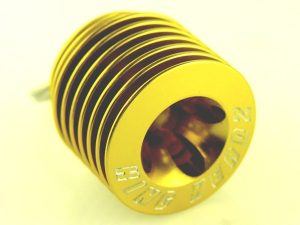 KC-010-BG - King Headz Key Chain - Gold