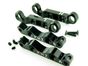 KP-300-BLK - Front Upper/Lower Suspension Holder Set