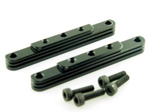 KP-317NJ-BLK - Motor Mount Top Blocks - 2MM Set Back