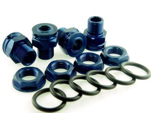KP-346+6 - 17MM Wheel Hubs/Nuts - +6MM (set of 4)