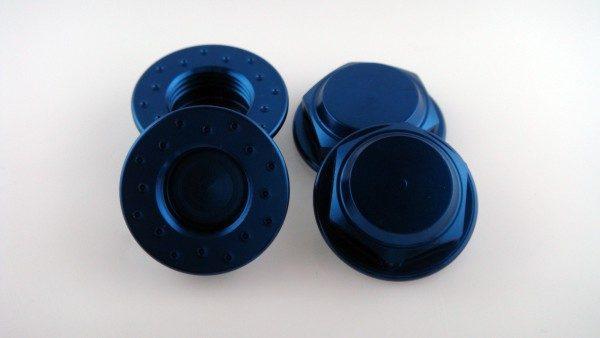 KP-349FN - 17MM Flanged Wheel Nuts (4) - Coarse Thread