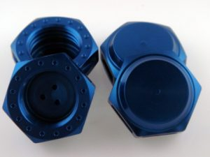 KP-348N - 17MM Wheel Nuts (4) - Fine Thread