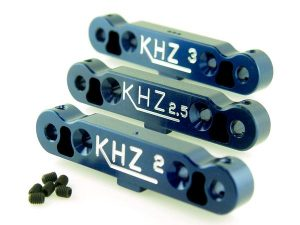 KP-520 - Rear Toe-In Plate Set (2°- 2.5°- 3°)