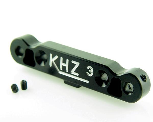 KP-523-BLK - Rear Toe-In Plate 3°