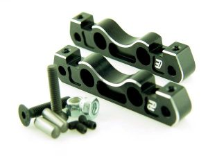 KP-800 - Front Lower Suspension Holder Set (2° - 3°)