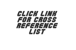 Cross Referance List